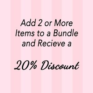 Other - 20% Bundle Discount